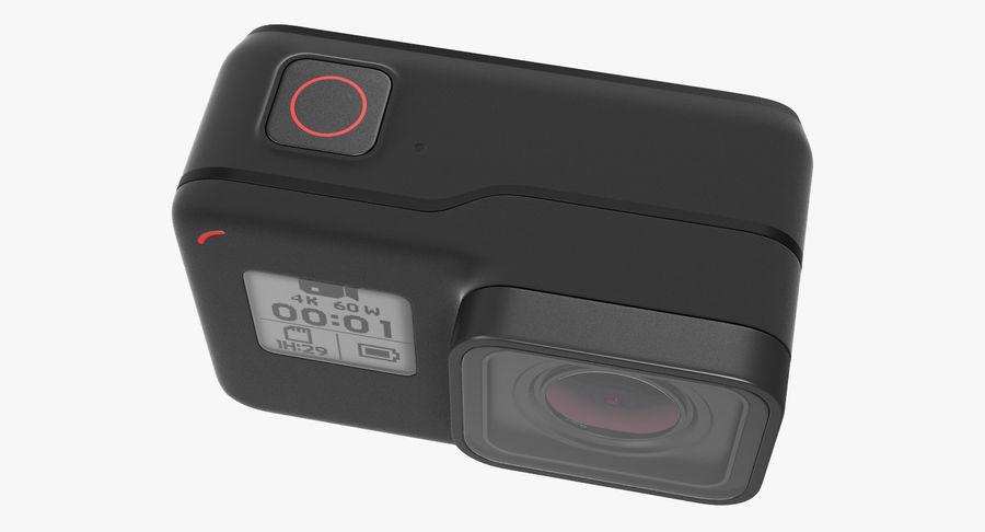 GoPro Hero7 Eylem Kamera royalty-free 3d model - Preview no. 7