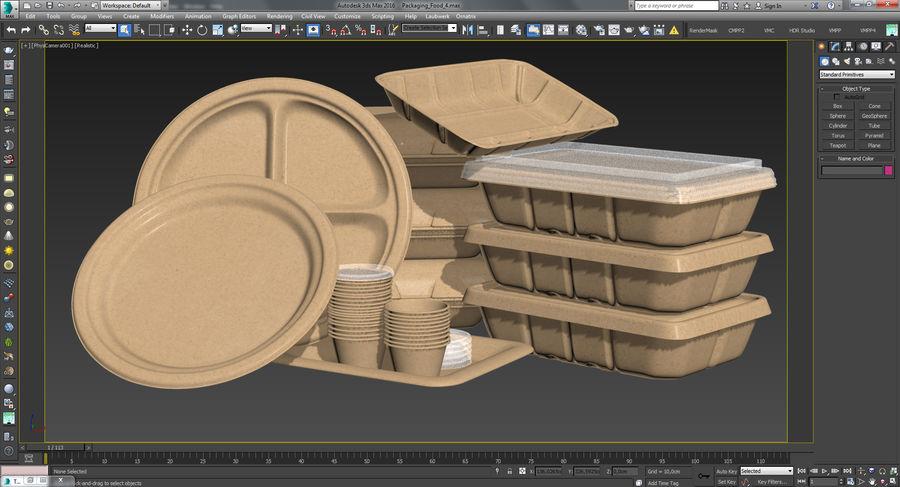 Imballaggio degli alimenti 4 royalty-free 3d model - Preview no. 44