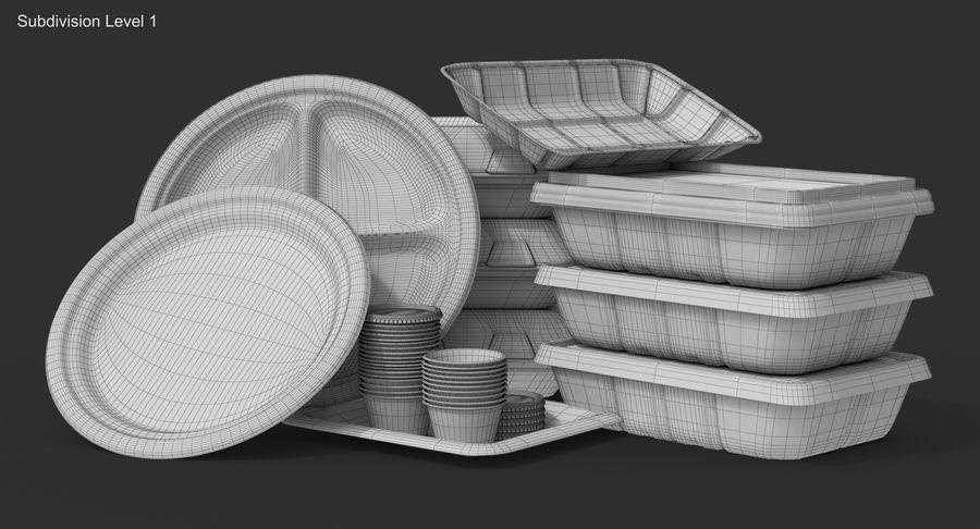 Imballaggio degli alimenti 4 royalty-free 3d model - Preview no. 26