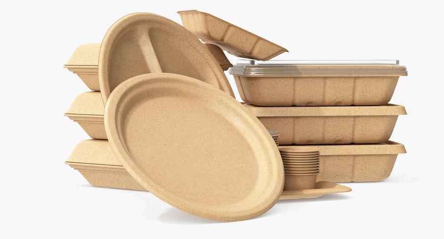 Imballaggio degli alimenti 4 royalty-free 3d model - Preview no. 7