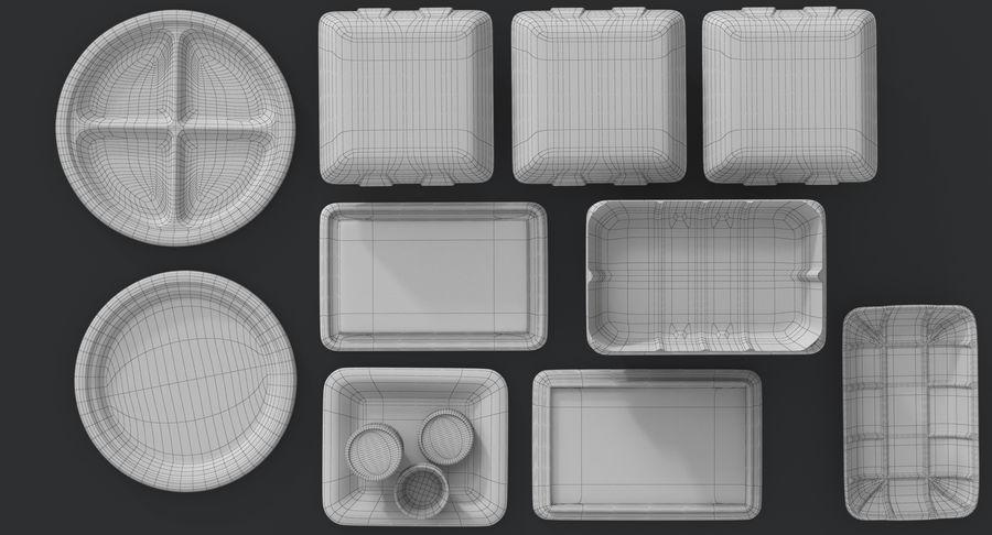 Imballaggio degli alimenti 4 royalty-free 3d model - Preview no. 38