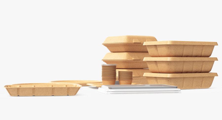 Imballaggio degli alimenti 4 royalty-free 3d model - Preview no. 21