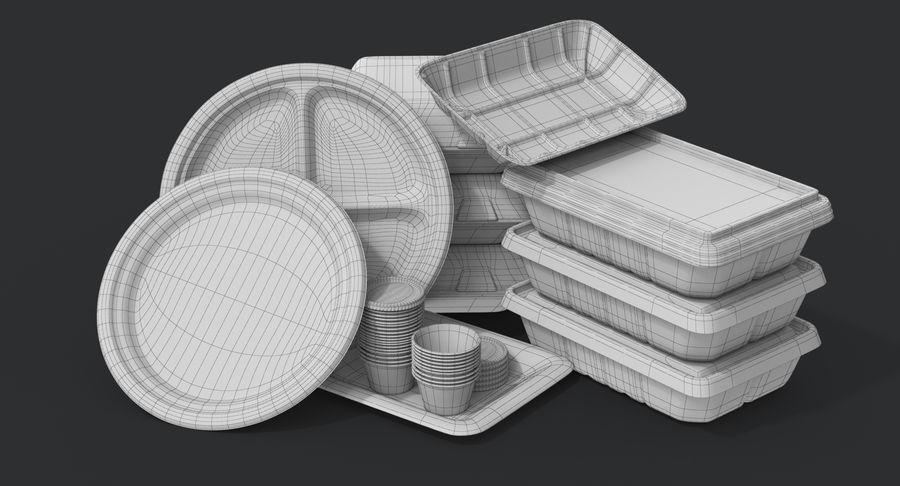 Imballaggio degli alimenti 4 royalty-free 3d model - Preview no. 28