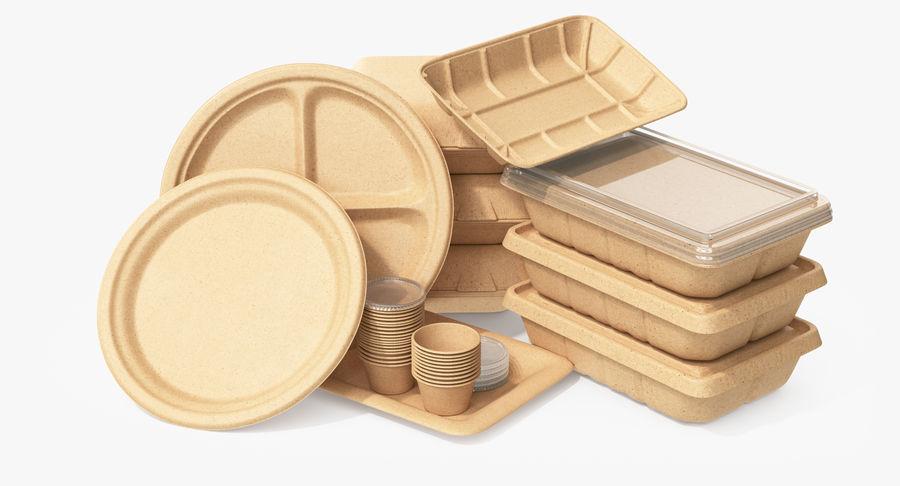 Imballaggio degli alimenti 4 royalty-free 3d model - Preview no. 5