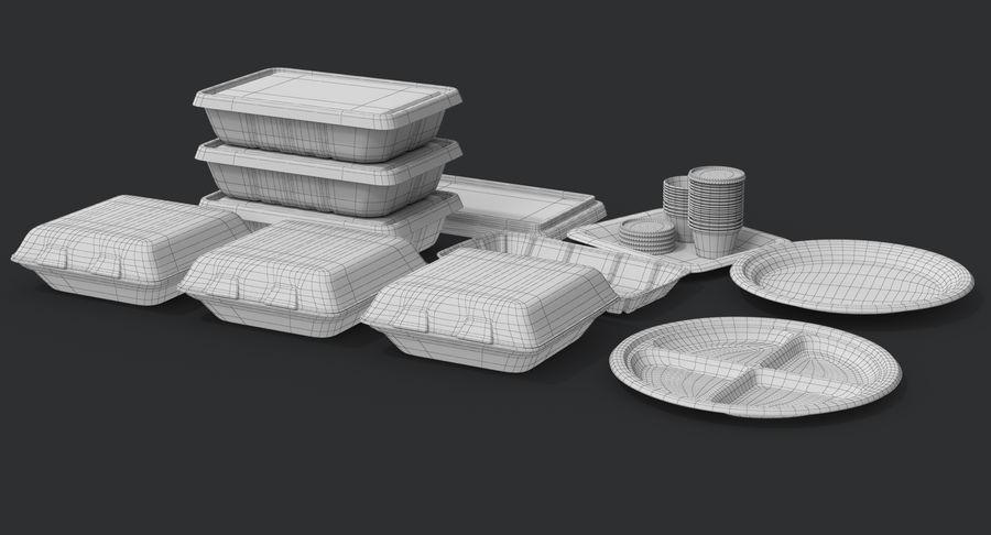 Imballaggio degli alimenti 4 royalty-free 3d model - Preview no. 32