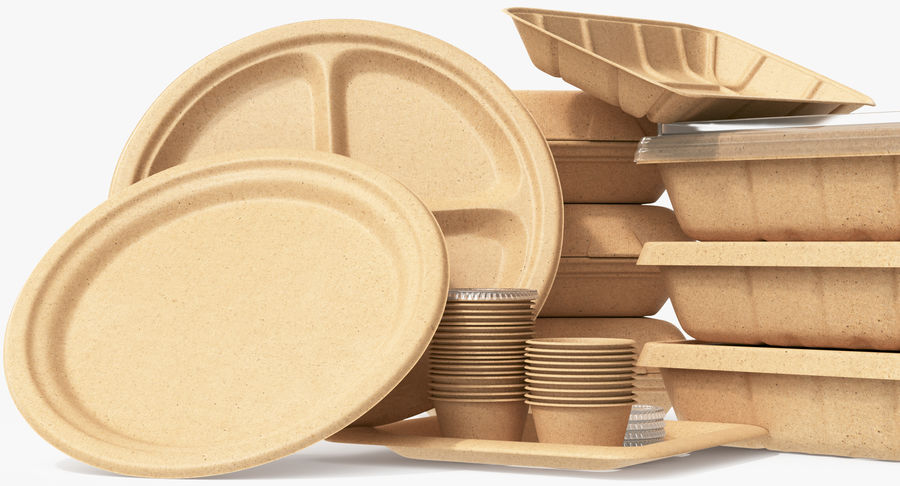Imballaggio degli alimenti 4 royalty-free 3d model - Preview no. 22