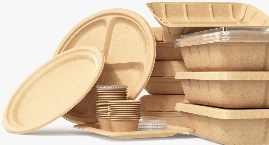 Imballaggio degli alimenti 4 royalty-free 3d model - Preview no. 24