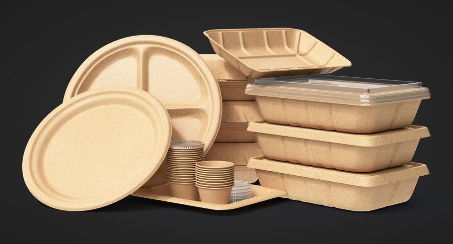 Imballaggio degli alimenti 4 royalty-free 3d model - Preview no. 3