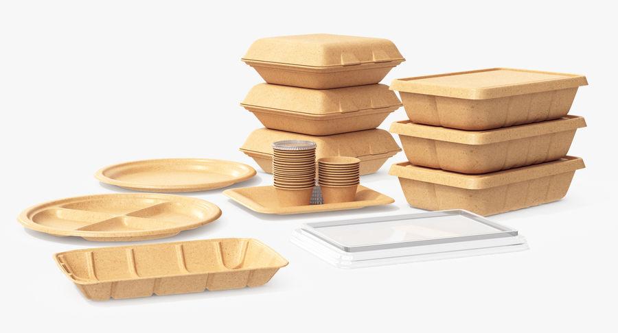 Imballaggio degli alimenti 4 royalty-free 3d model - Preview no. 20