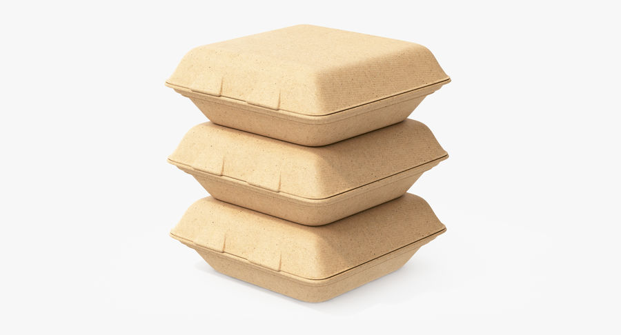 Imballaggio degli alimenti 4 royalty-free 3d model - Preview no. 12
