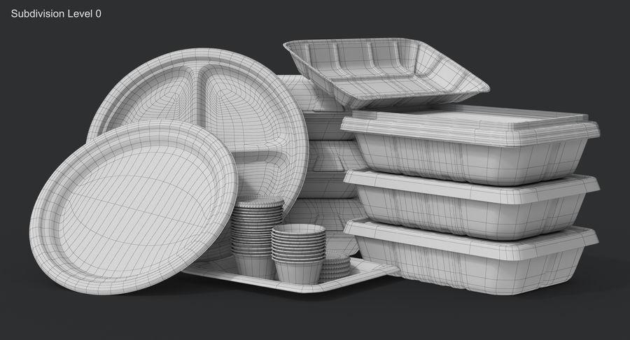Imballaggio degli alimenti 4 royalty-free 3d model - Preview no. 25
