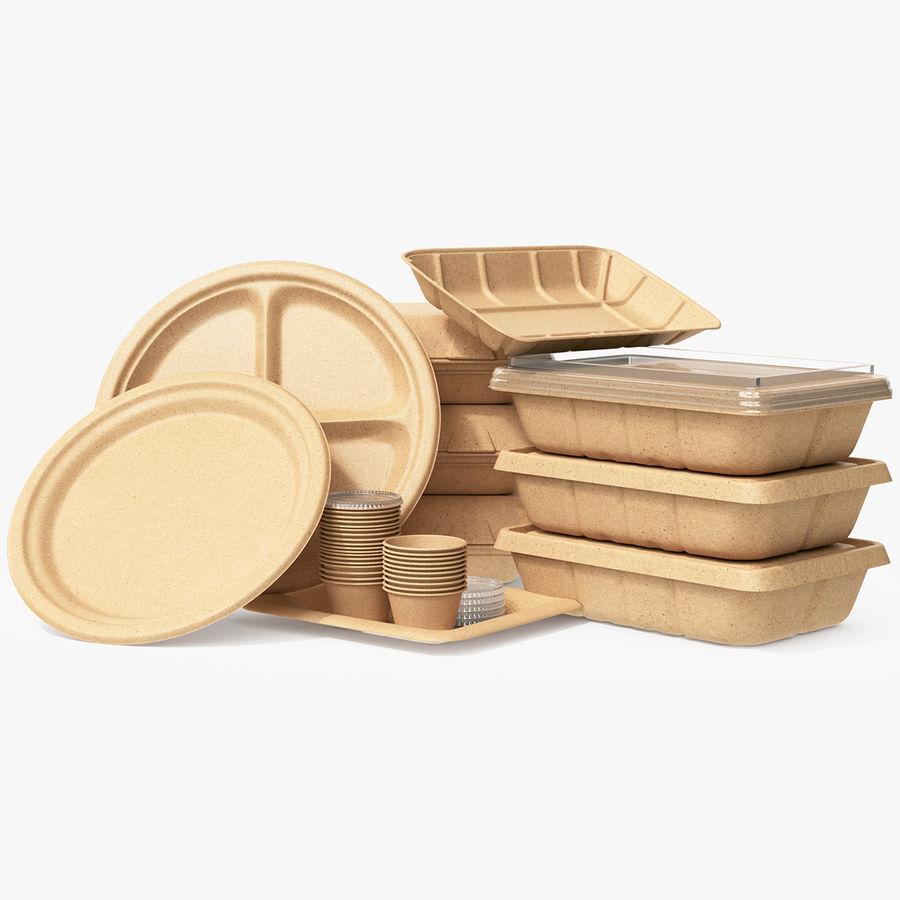 Imballaggio degli alimenti 4 royalty-free 3d model - Preview no. 1