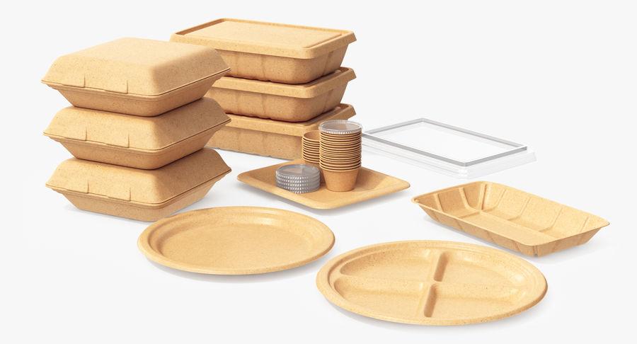 Imballaggio degli alimenti 4 royalty-free 3d model - Preview no. 9