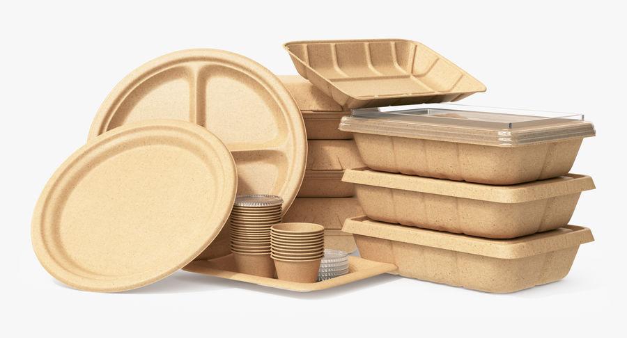 Imballaggio degli alimenti 4 royalty-free 3d model - Preview no. 2