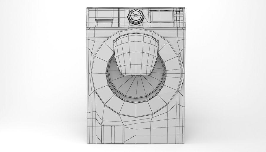 Samsung washing machine WF7500 addWash royalty-free 3d model - Preview no. 12