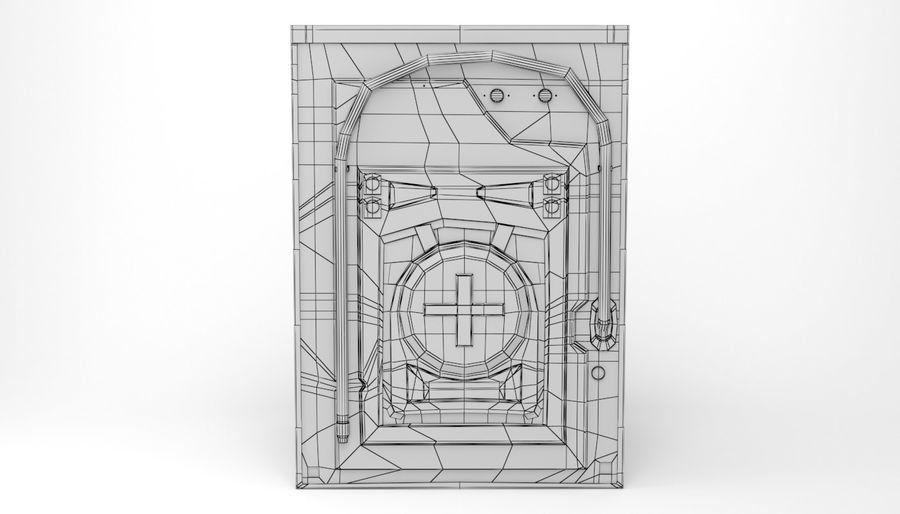 Samsung washing machine WF7500 addWash royalty-free 3d model - Preview no. 15