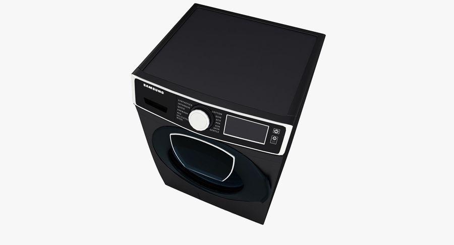 Samsung washing machine WF7500 addWash royalty-free 3d model - Preview no. 6