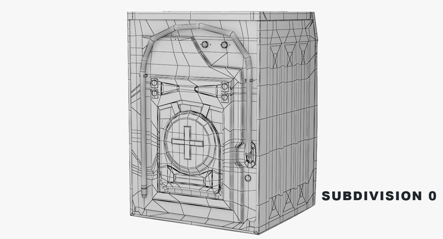 Samsung washing machine WF7500 addWash royalty-free 3d model - Preview no. 9