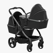 Carrinho de bebê iCandy Peach 8 Twin 3d model