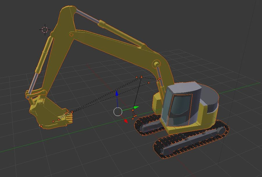 Graafmachine royalty-free 3d model - Preview no. 1