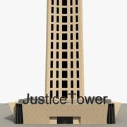 Justice Tower 3d model