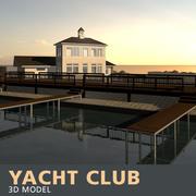 Яхт-клуб 3d model