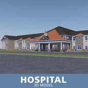 Krankenhaus 3 3d model