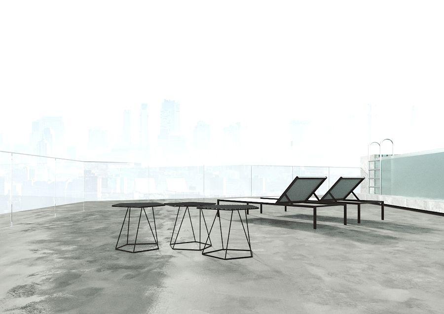 Bureau moderne royalty-free 3d model - Preview no. 4