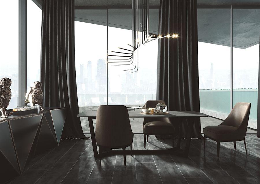 Bureau moderne royalty-free 3d model - Preview no. 1