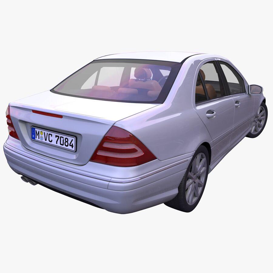 Generic German Sedan royalty-free 3d model - Preview no. 2