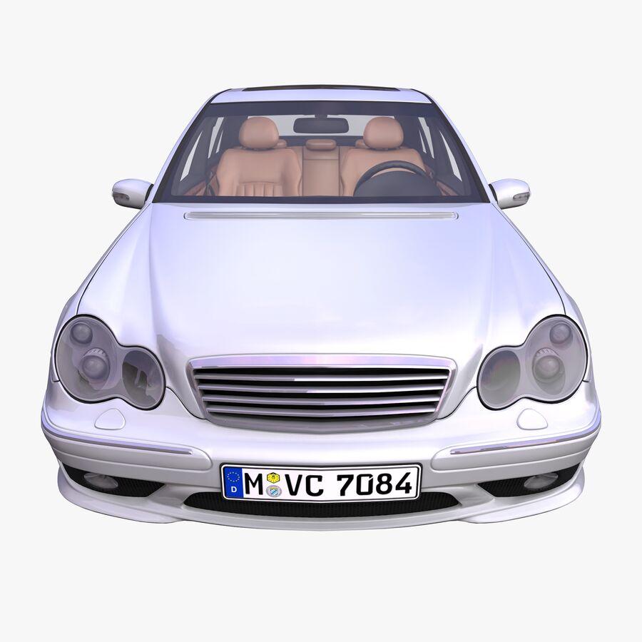 Generic German Sedan royalty-free 3d model - Preview no. 3