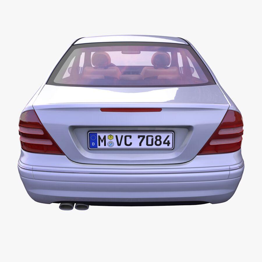 Generic German Sedan royalty-free 3d model - Preview no. 4