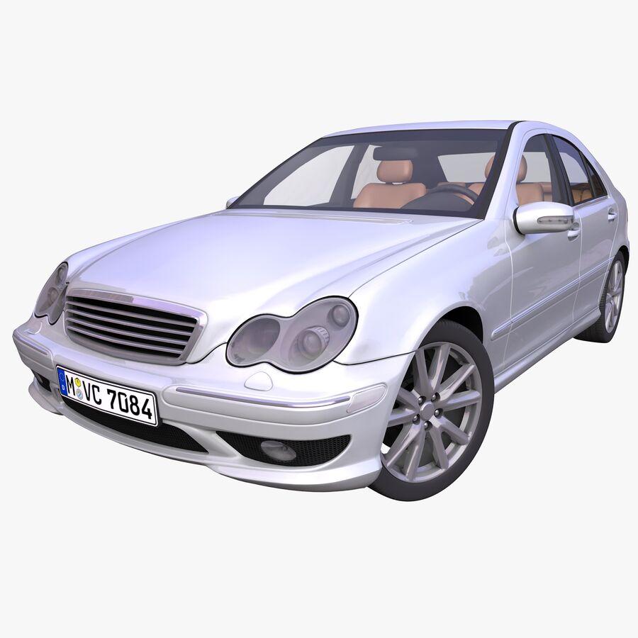 Generic German Sedan royalty-free 3d model - Preview no. 1