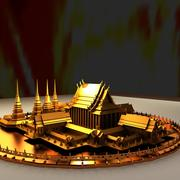 Temple chinois 3d model