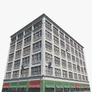 Edifício de telégrafo 3d model