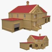 经典住宅室内项目 3d model