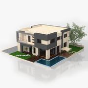 Współczesny Dom 3d model