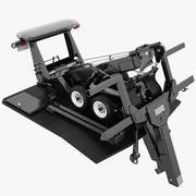 Mécanisme de dépanneuse 02 3d model