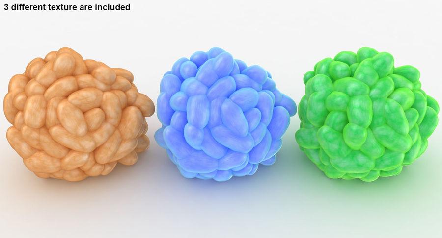 Collection de corail royalty-free 3d model - Preview no. 11