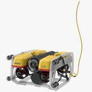 水中ロボットライト 3d model