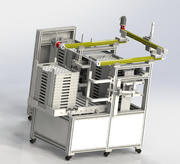 Stacking machine 3d model