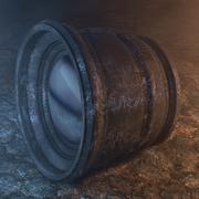 빈티지 프라임 카메라 렌즈 3d model