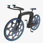 未来のサイクル 3d model