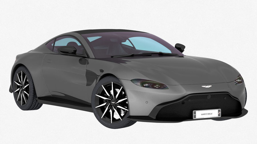 Aston Martin Vantage 2019 Low Interior 3d Modell 89 Obj Unknown Max Free3d