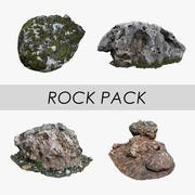 Pack Rock 3d model