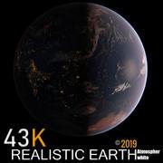 Terre ultra réaliste 43K 3d model