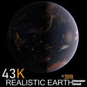 Realistyczny świat UltraHd 43K 3d model