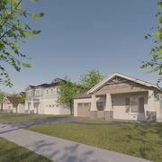 Street View Neighborhood 3d model