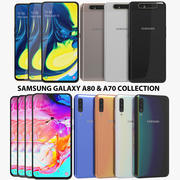 Samsung Galaxy A80 & A70 Collection 3d model
