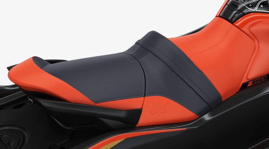 Sea-Doo RXT-X 300 Red Performance Watercraft 2019 royalty-free 3d model - Preview no. 14